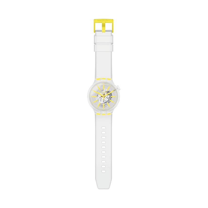 Swatch Herrenuhr Yellowinjelly SO27E103