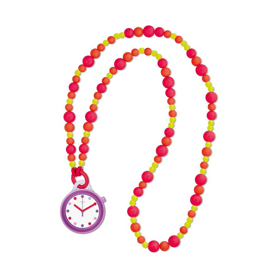 Swatch Kette mit Uhr Popalicious Beads PNP100N