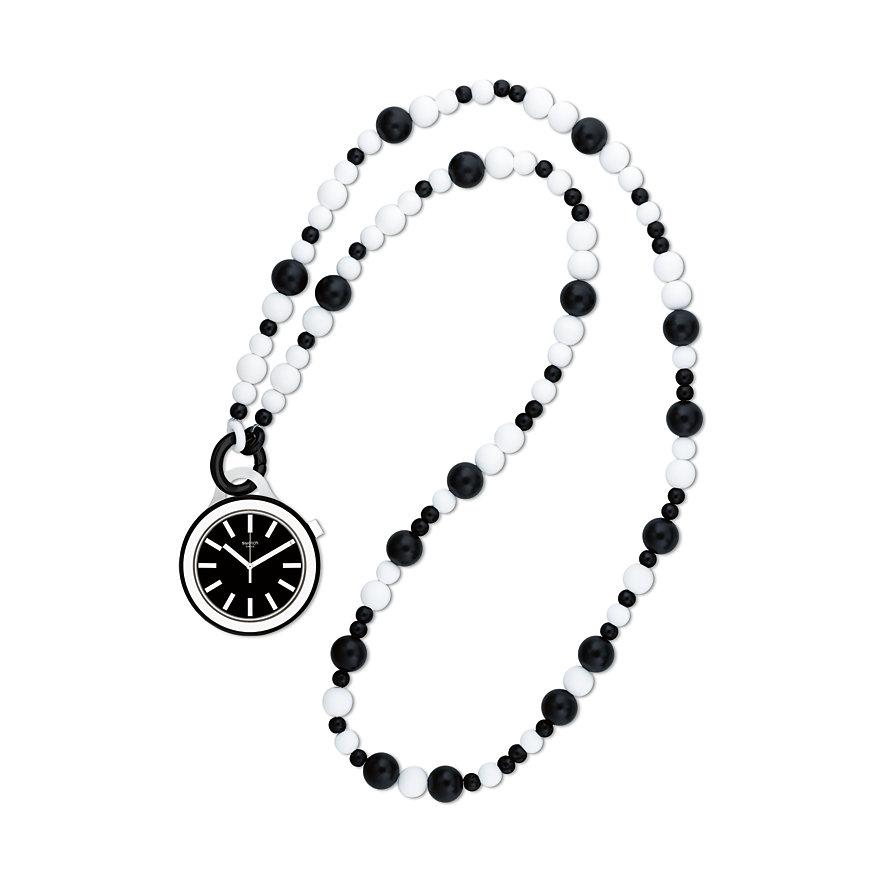Swatch Kette mit Uhr Poplooking Beads PNB100N