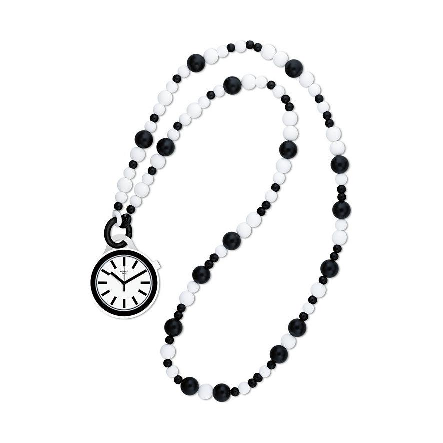 Swatch Kette mit Uhr Popmoving Beads PNW100N