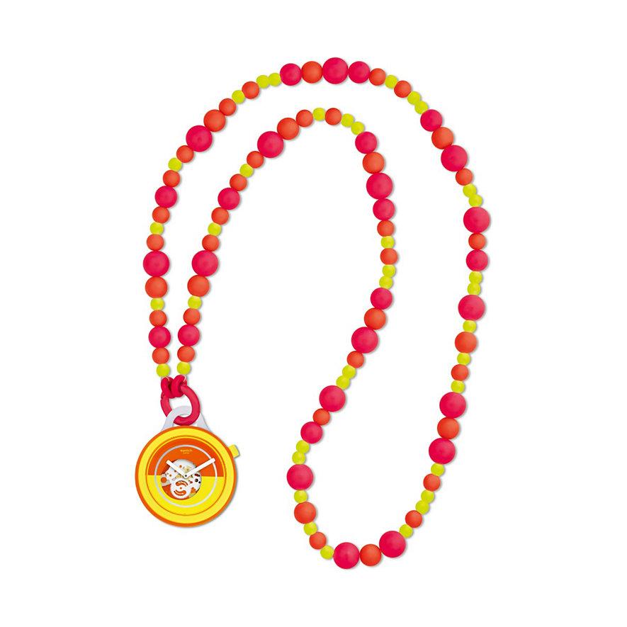 Swatch Kette mit Uhr Popover Beads PNO100N
