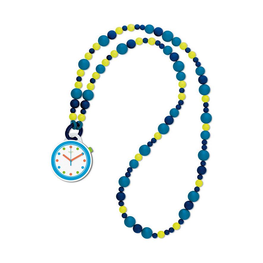 Swatch Kette mit Uhr Poppingpop Beads PNW102N
