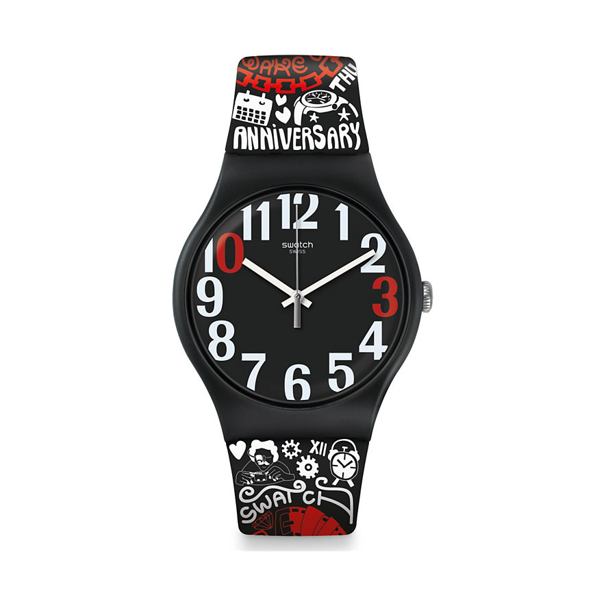 Swatch Unisexuhr 30 And Ticking SUOZ322