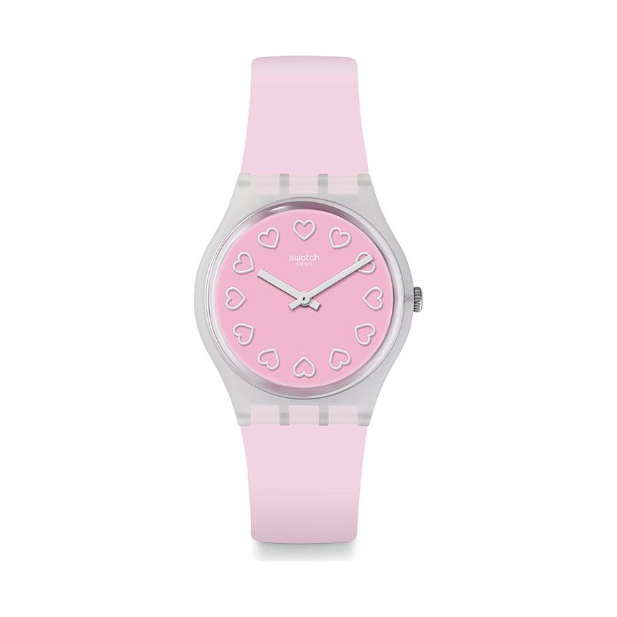 Swatch Unisexuhr All Pink GE273