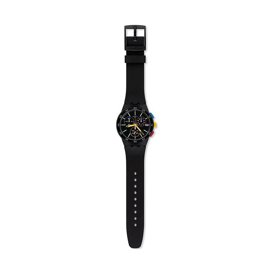 Swatch Unisexuhr Blackone SUSB416