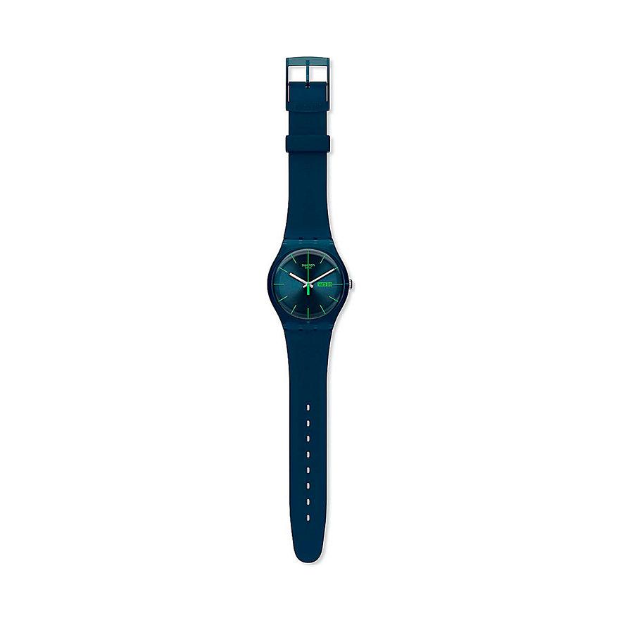 Swatch Unisexuhr Blue Rebel SUON700