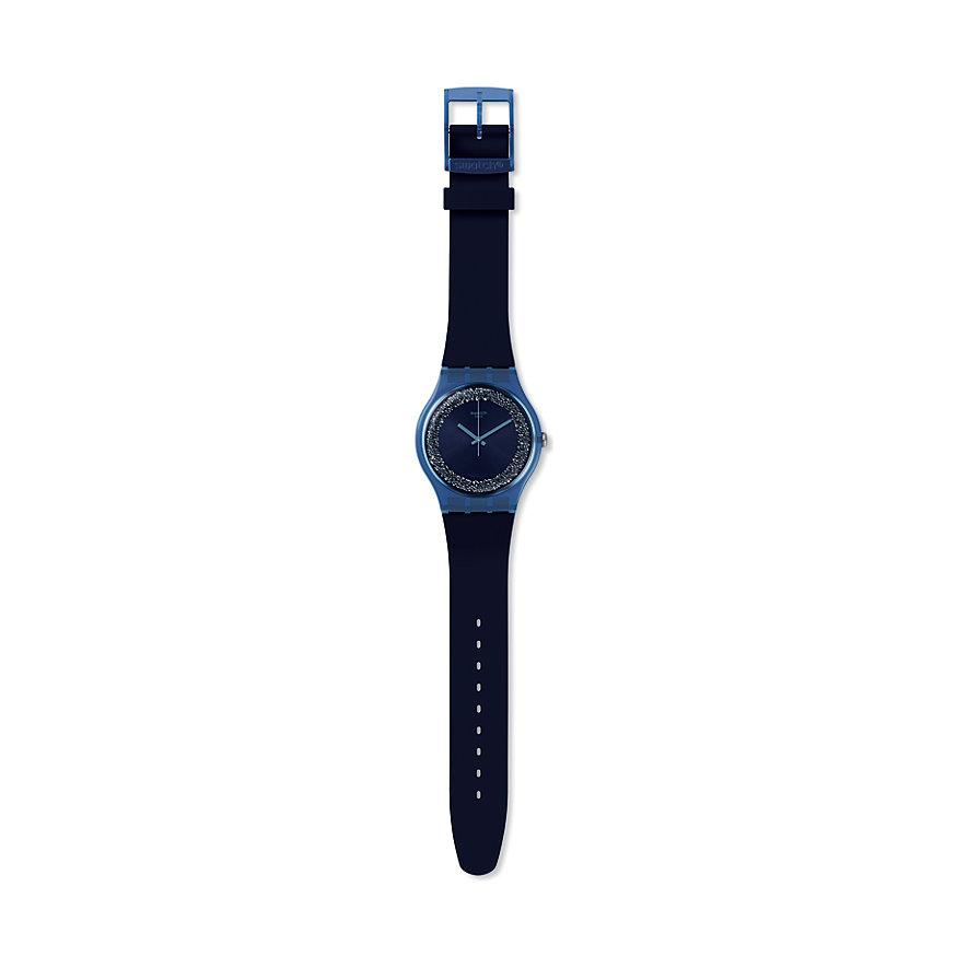 Swatch Unisexuhr Blusparkles SUON134