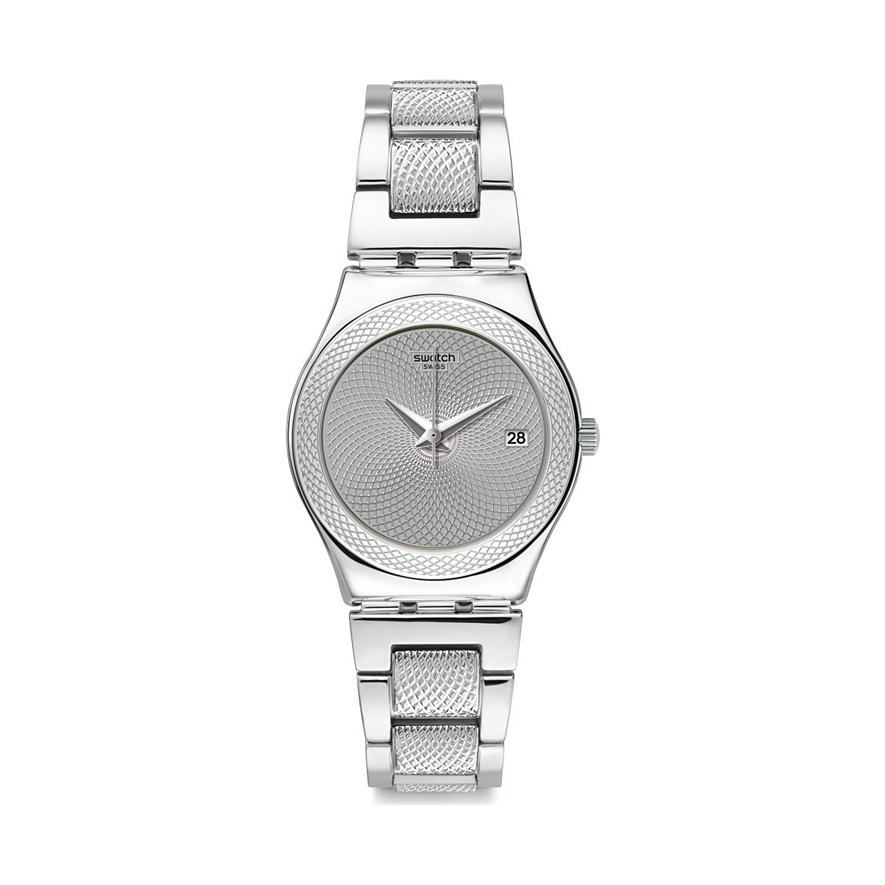Swatch Unisexuhr Classy Silver YLS466G