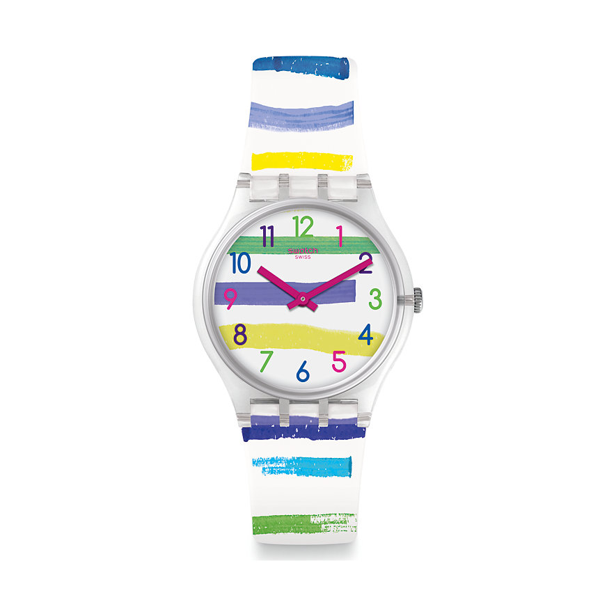 Swatch Unisexuhr Colorland GE254