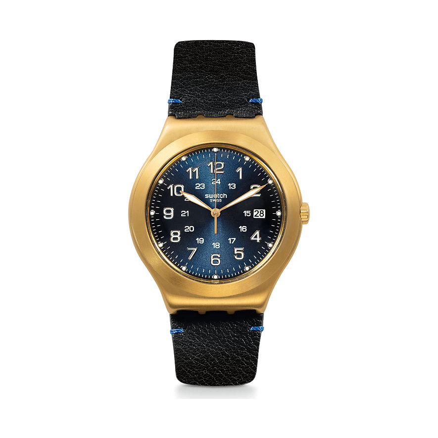 Swatch Unisexuhr Happy Joe Golden YWG408