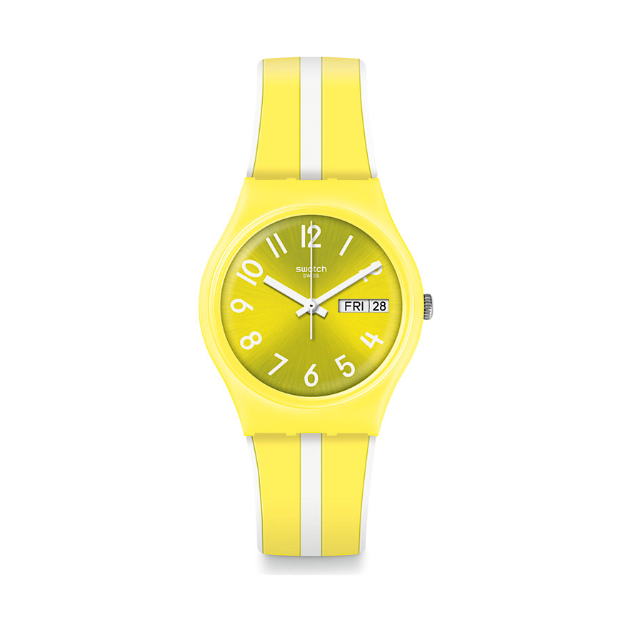 Swatch Unisexuhr Lemoncello GJ702