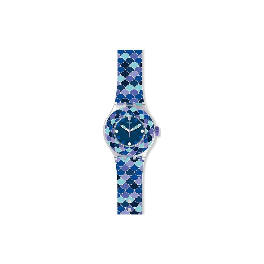 Swatch Unisexuhr Pedrinha azul SUUK110