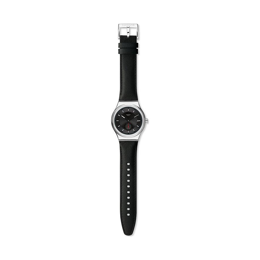 Swatch Unisexuhr Petite Seconde Black SY23S400