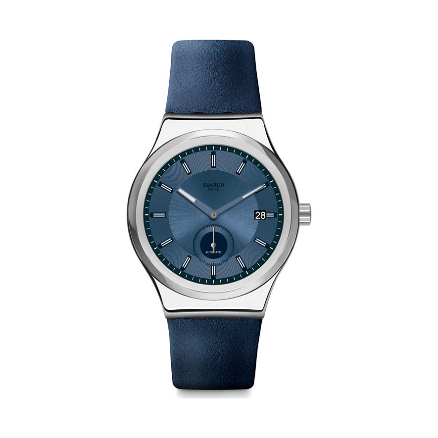 Swatch Unisexuhr Petite Seconde Blue SY23S403
