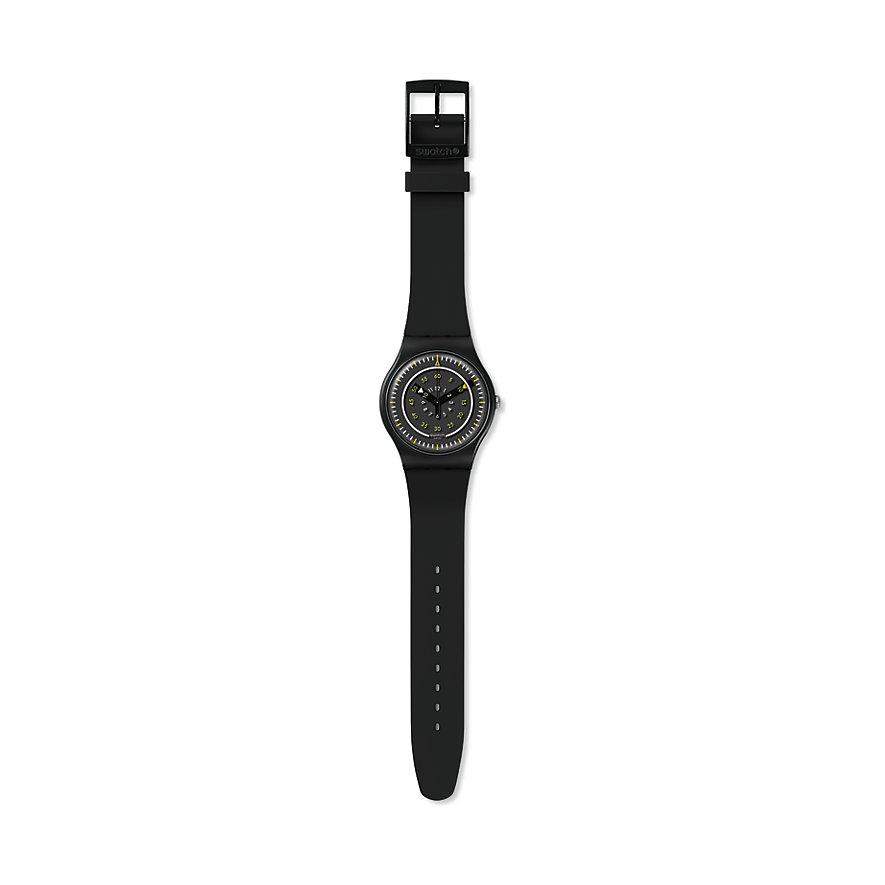 Swatch Unisexuhr Pi Nero SUOB157