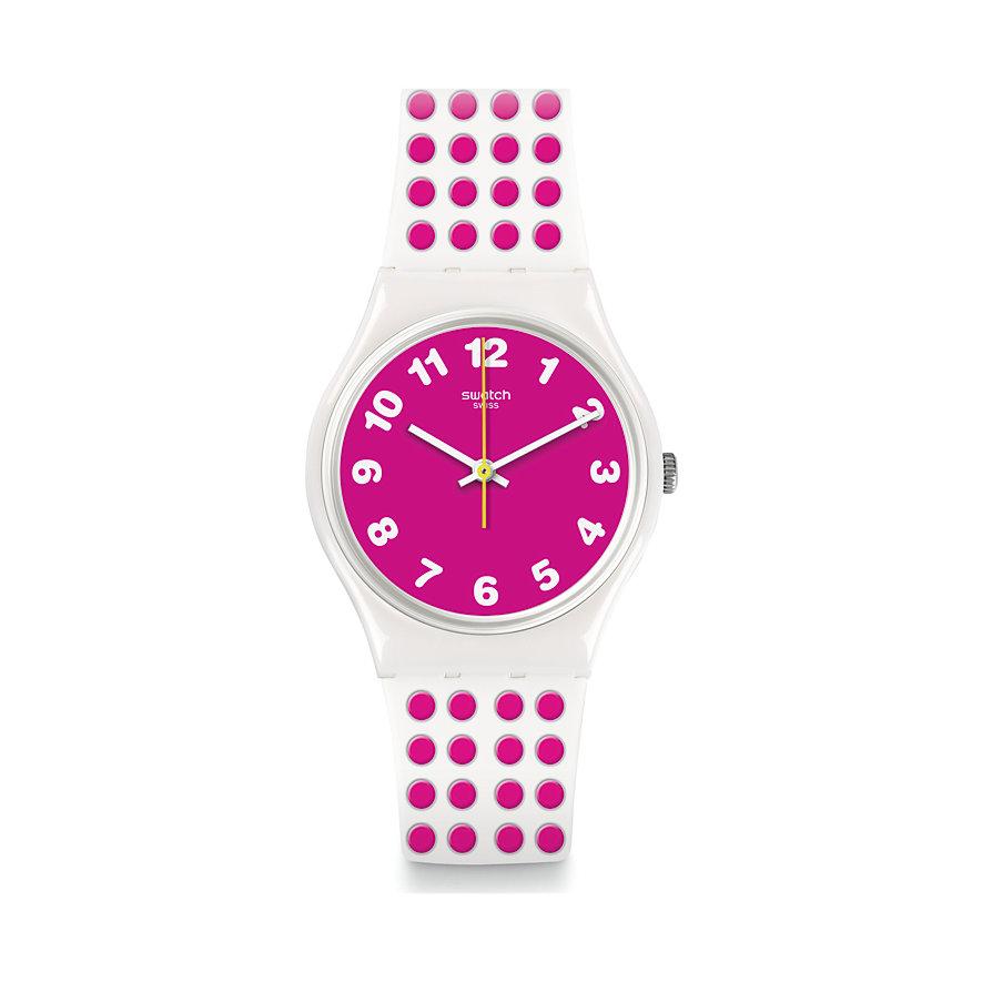 Swatch Unisexuhr Pinkdots GW190