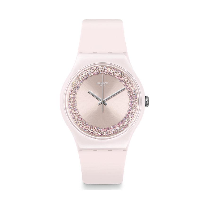 Swatch Unisexuhr Pinksparkles SUOP110