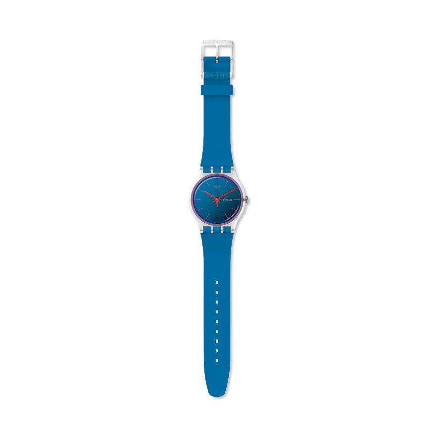 Swatch Unisexuhr Polablue SUOK711