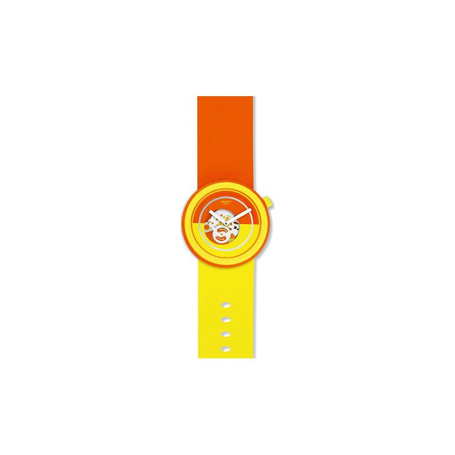 Swatch Unisexuhr Popover PNO100
