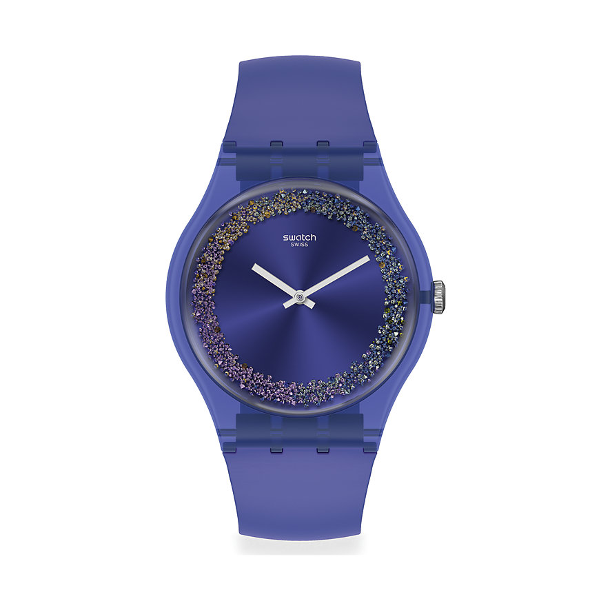 Swatch Unisexuhr Purple Rings SUOV106