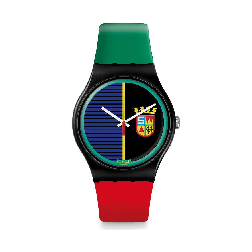 Swatch Unisexuhr Sir Swatch19 SUOB169