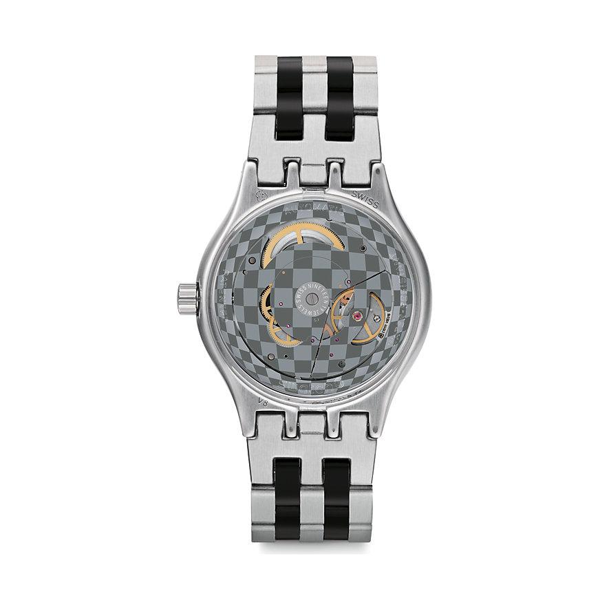 Swatch Unisexuhr Sistem Silverline YIS424G