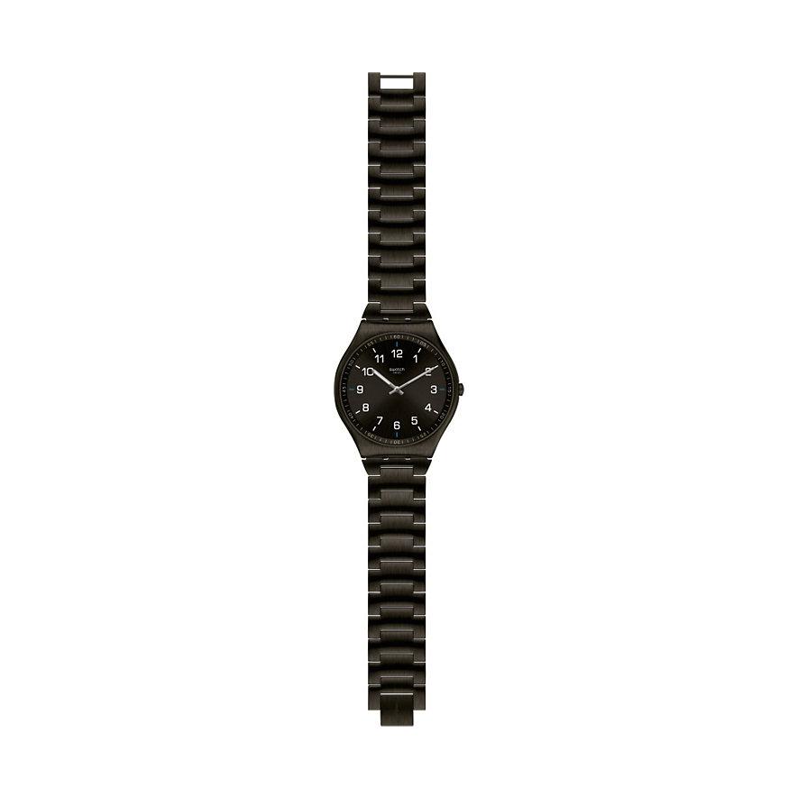 Swatch Unisexuhr Skin Suit Black SS07B100G