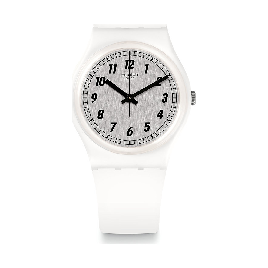 Swatch Unisexuhr Something White GW194