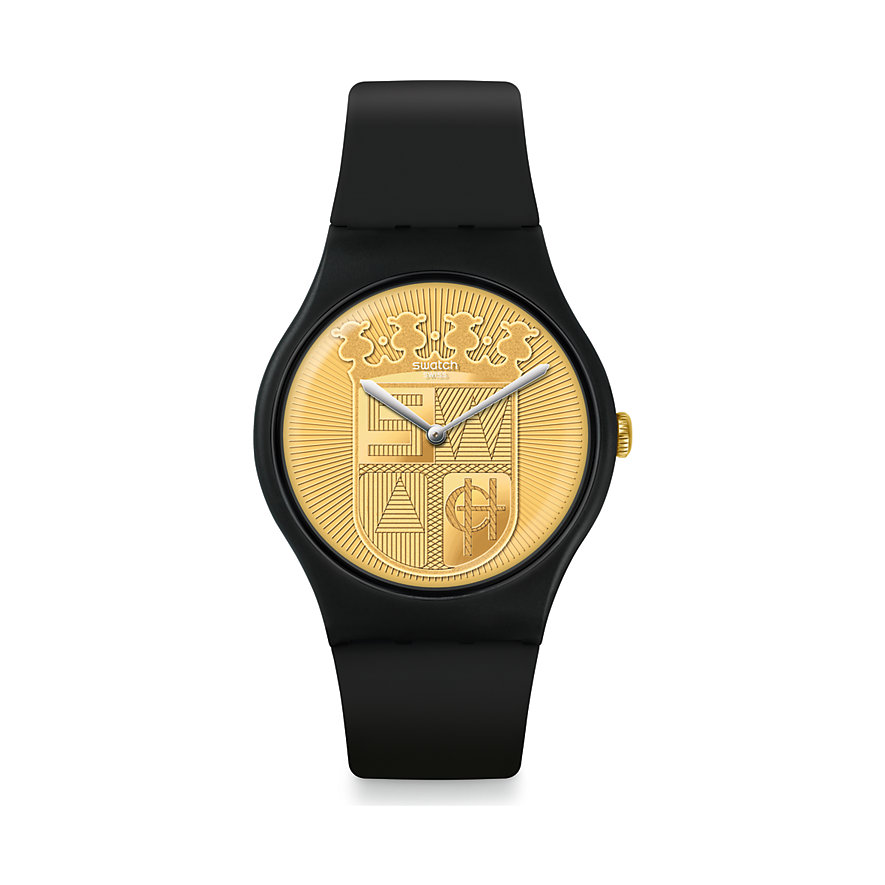 Swatch Unisexuhr Super Sir SUOB170