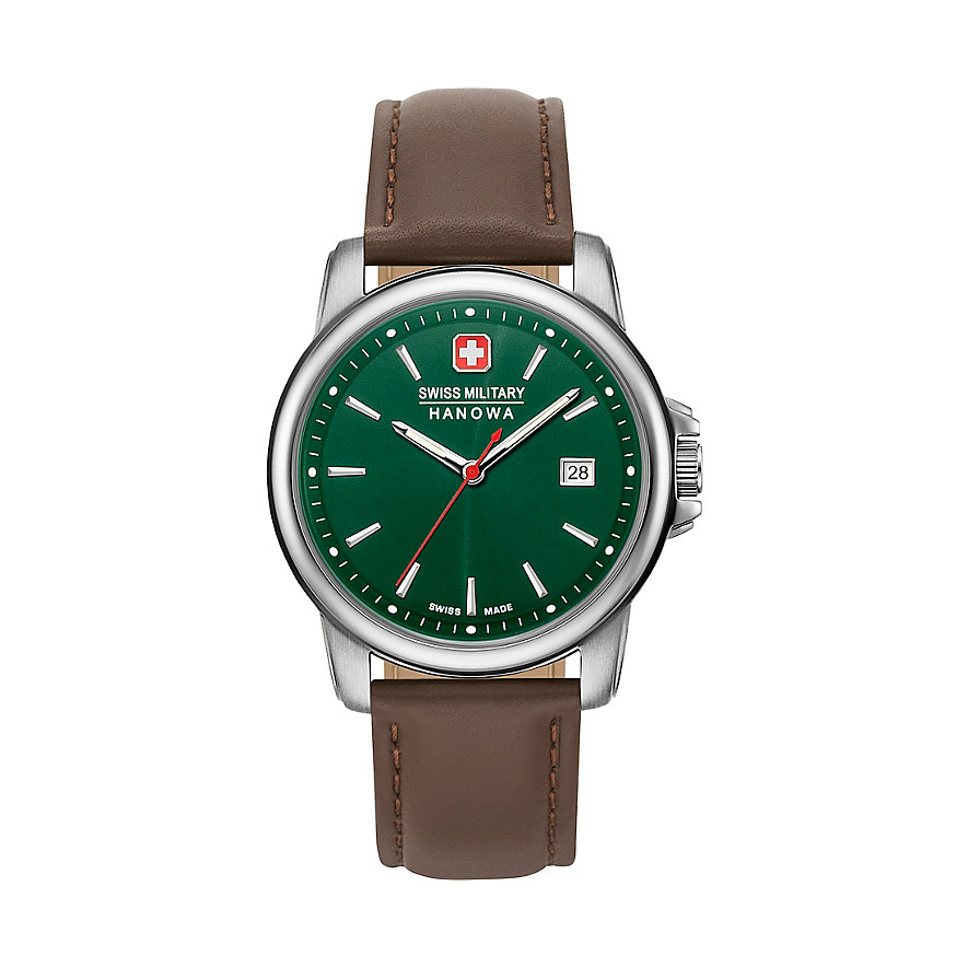 Swiss Military Hanowa Herrenuhr Swiss Recruit II 06-4230.7.04.006