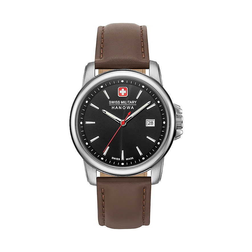 Swiss Military Hanowa Herrenuhr Swiss Recruit II 06-4230.7.04.007
