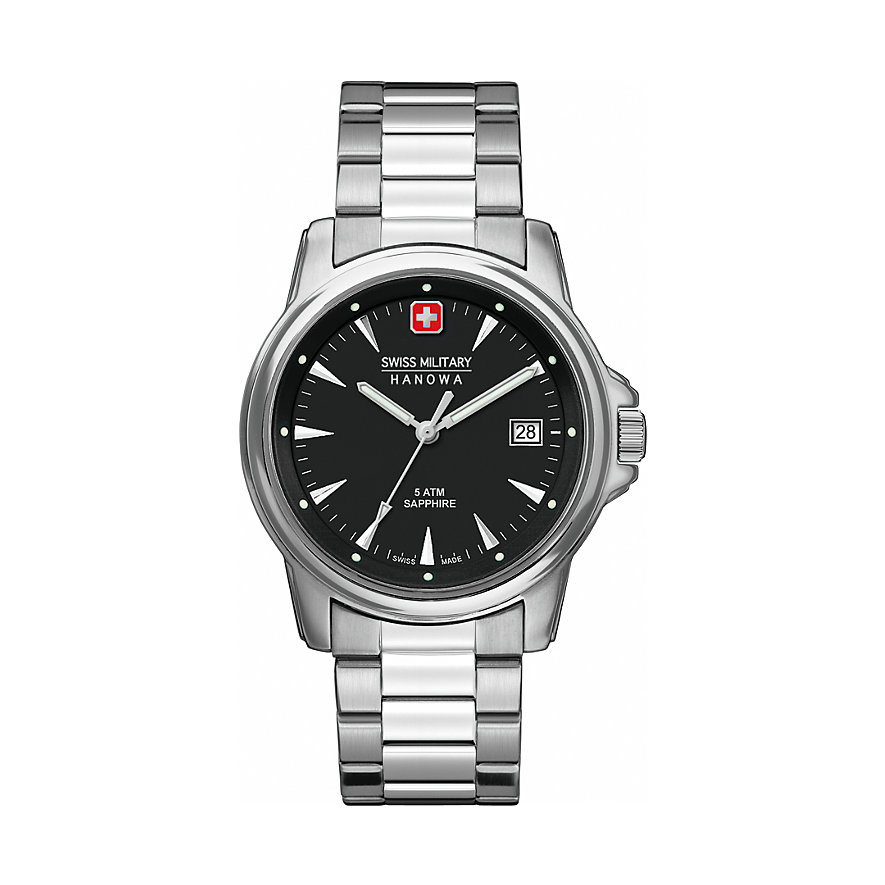 Swiss Military Hanowa Herrenuhr Swiss Recruit Prime 06-5230.04.007
