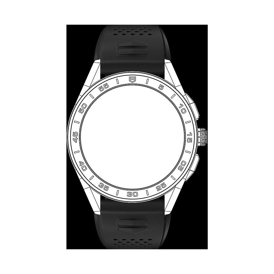 TAG Heuer Kautschukband Uhrenband Für Connected Watch BT6219