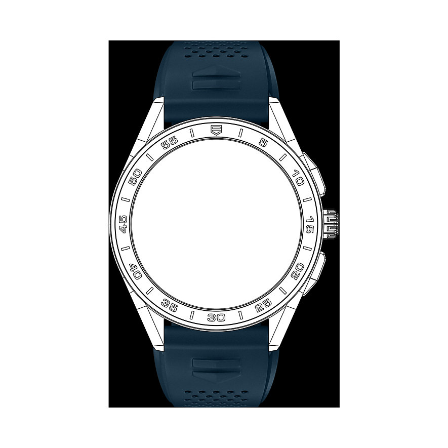 TAG Heuer Kautschukband Uhrenband Für Connected Watch BT6220