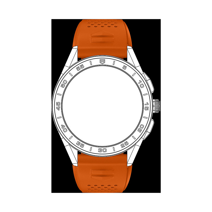 TAG Heuer Kautschukband Uhrenband Für Connected Watch BT6231