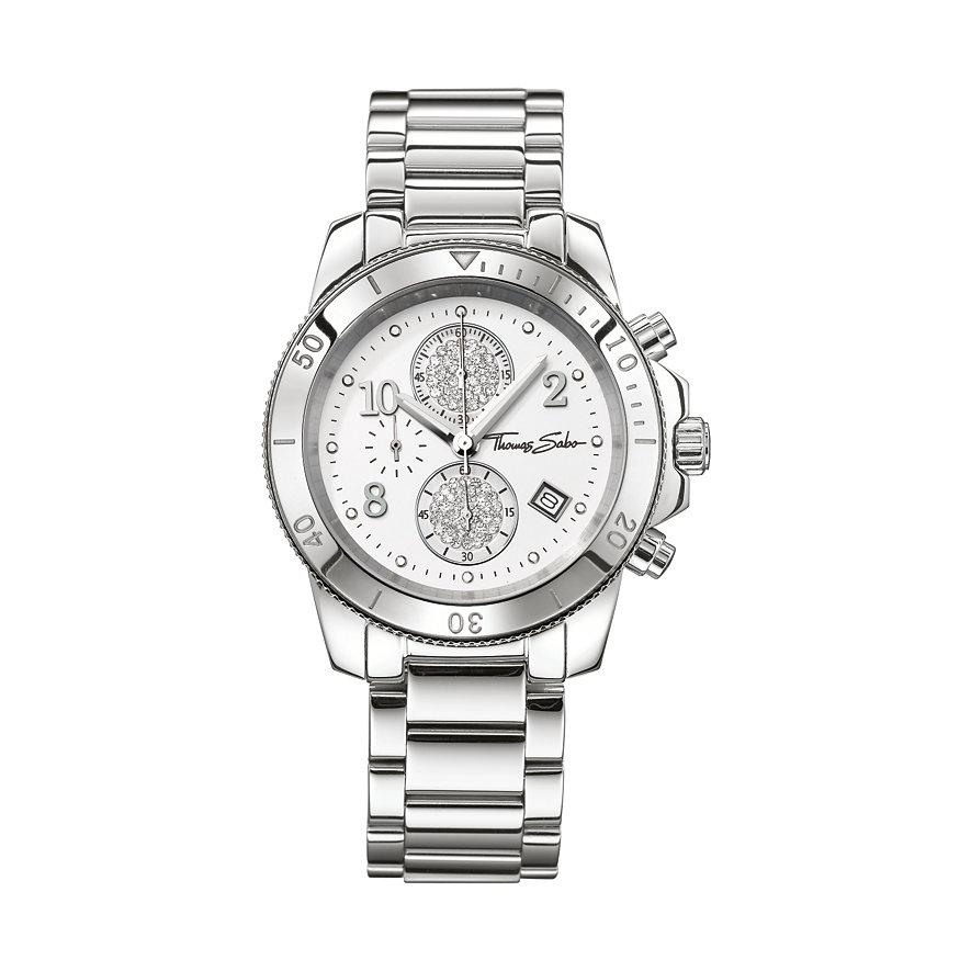 Thomas Sabo Damenchronograph WA0190-201-202