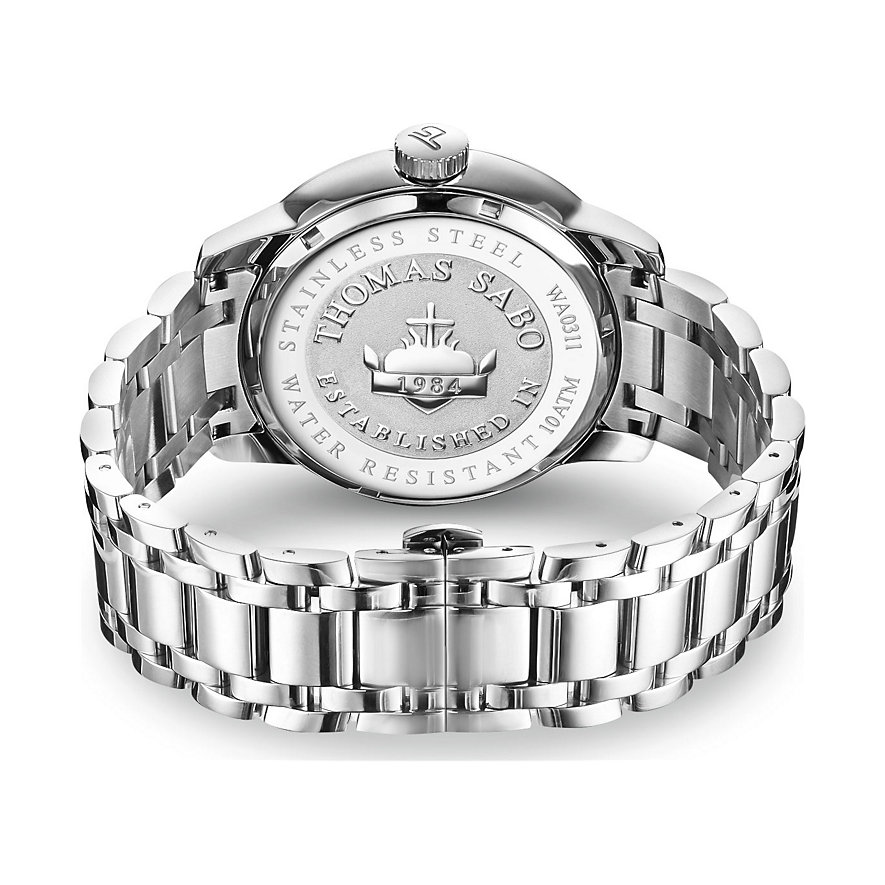 Thomas Sabo Herrenuhr WA0311-201-214-46 mm