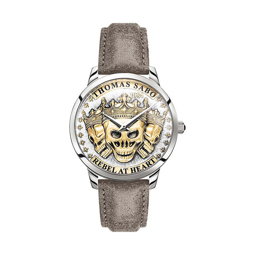 Thomas Sabo Herrenuhr WA0356-273-207-42 mm