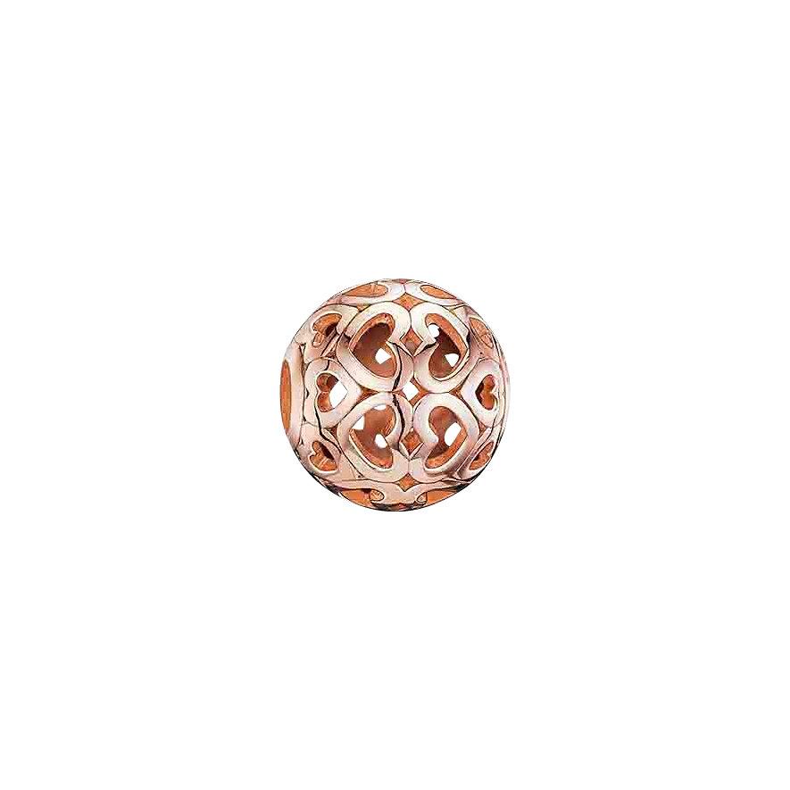 Thomas Sabo Karma Bead K0018-415-12 Herzen rosevergoldet
