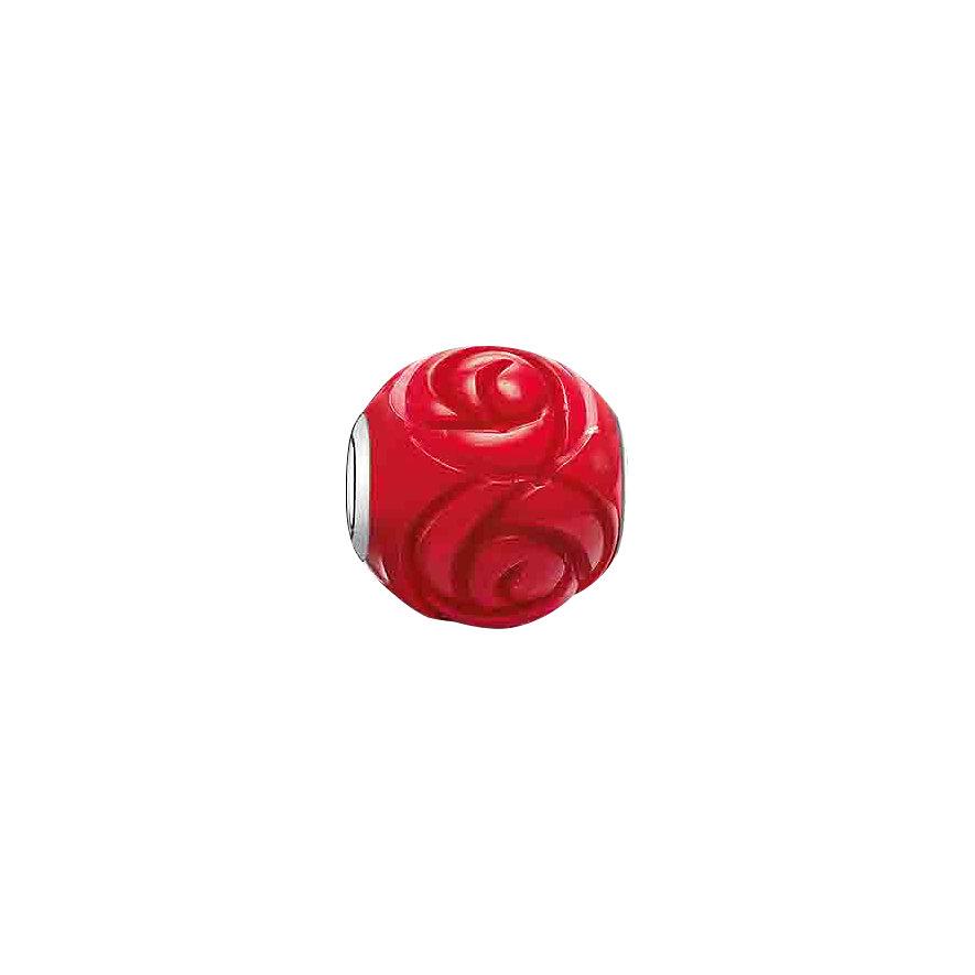 Thomas Sabo Karma Bead K0038-590-10 Rote Rose