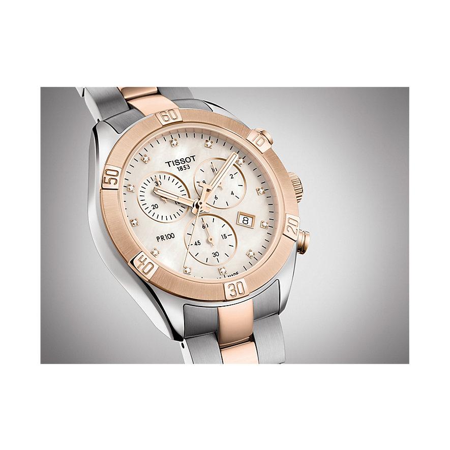 Tissot Chronograph PR 100 Sport Chic Chronograph T1019172211600