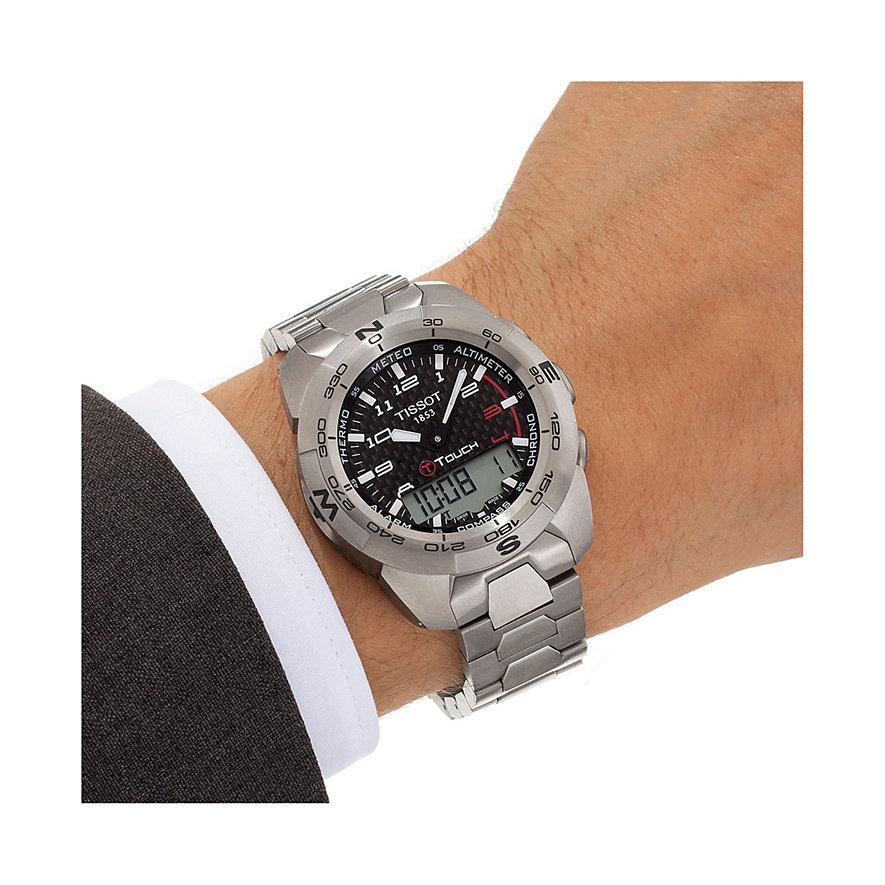 Tissot Chronograph T-Touch Expert Titanium T0134204420200