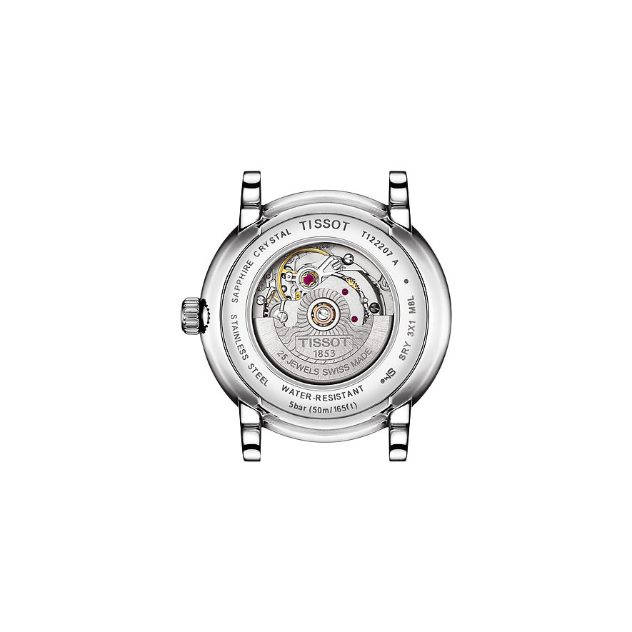 Tissot Damenuhr Carson Premium Automatic Lady T1222071103600