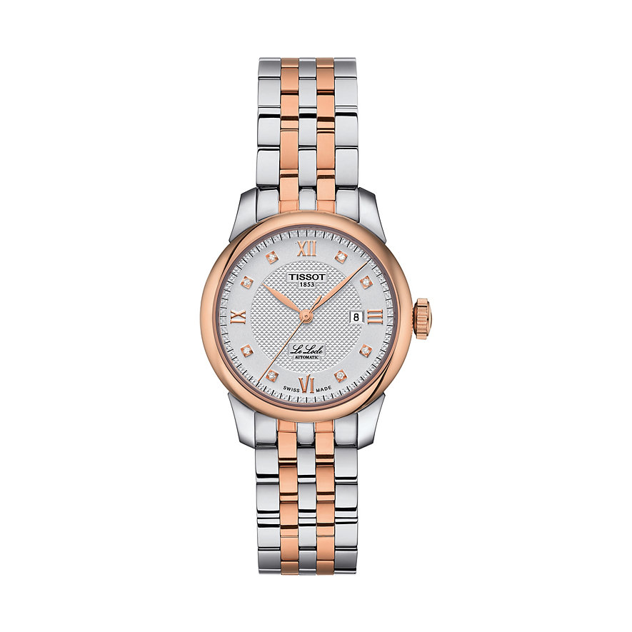 Tissot Damenuhr Le Locle Automatique Lady T0062072203600