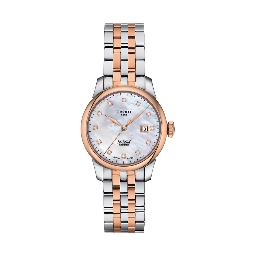 Tissot Damenuhr Le Locle Automatique Lady T0062072211600