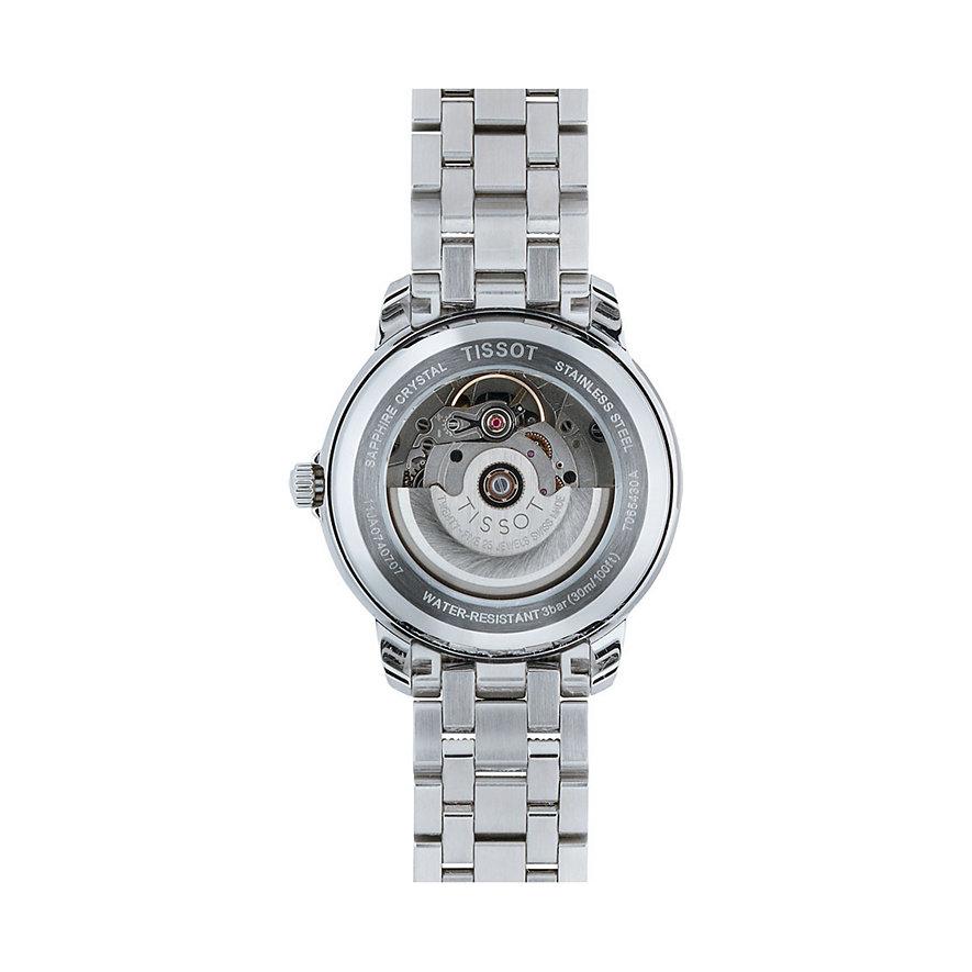 Tissot Herrenuhr Automatics III T0654301105100