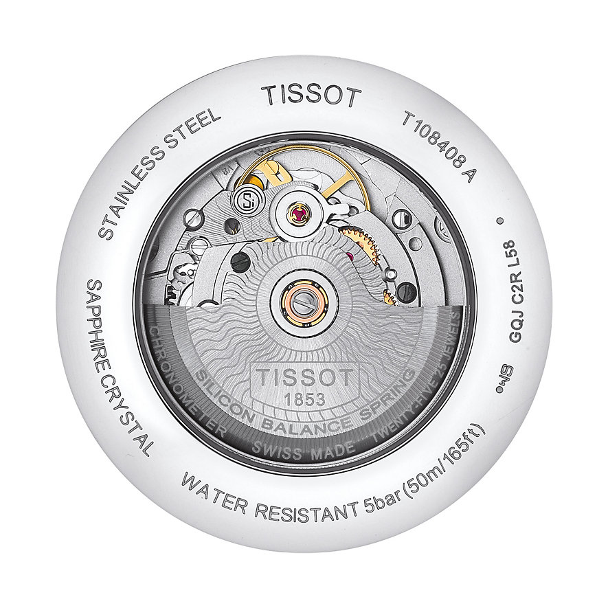 Tissot Herrenuhr Ballade Powermatic 80 COSC T1084081605700