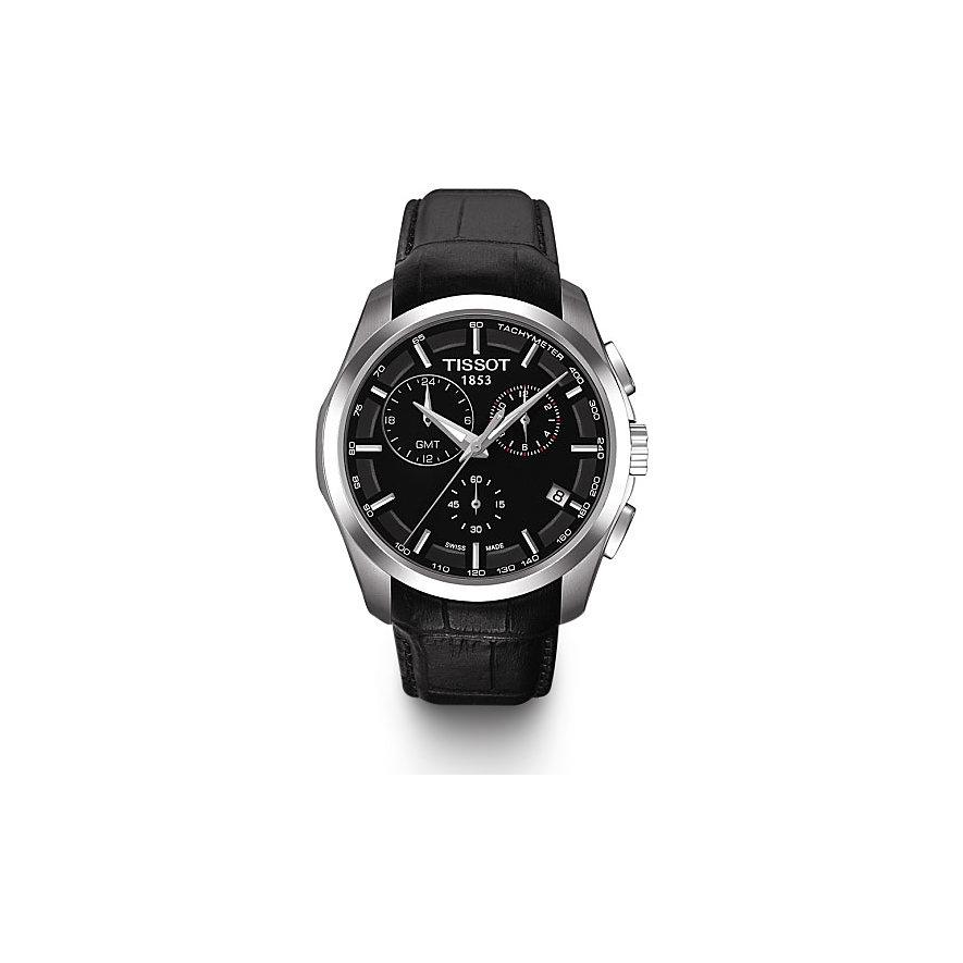 Tissot Herrenuhr Couturier GMT T0354391605100