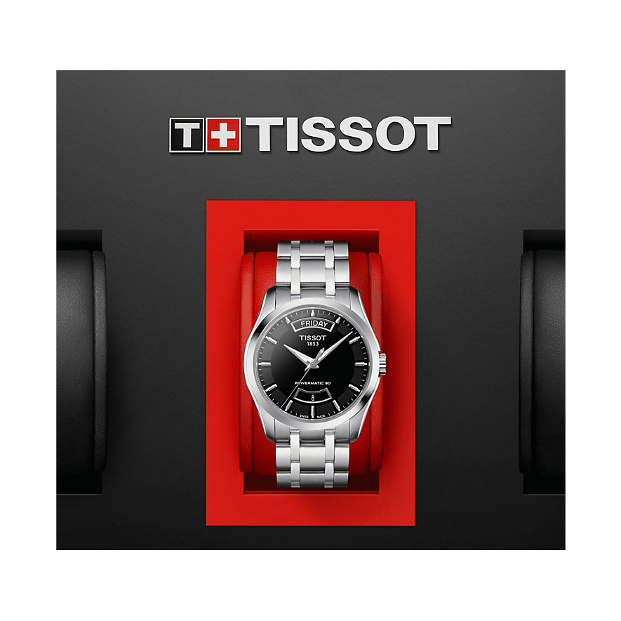 Tissot Herrenuhr Couturier Powermatic 80 T0354071105101
