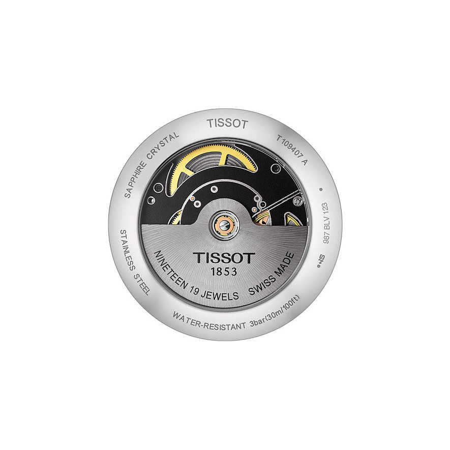 Tissot Herrenuhr Everytime Swissmatic T1094071603100